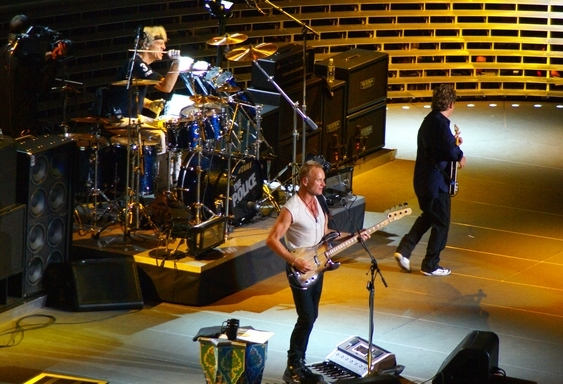 The Police in Madison Square Garden